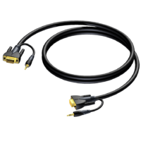 CLV115 VGA Cable with Stereo Audio