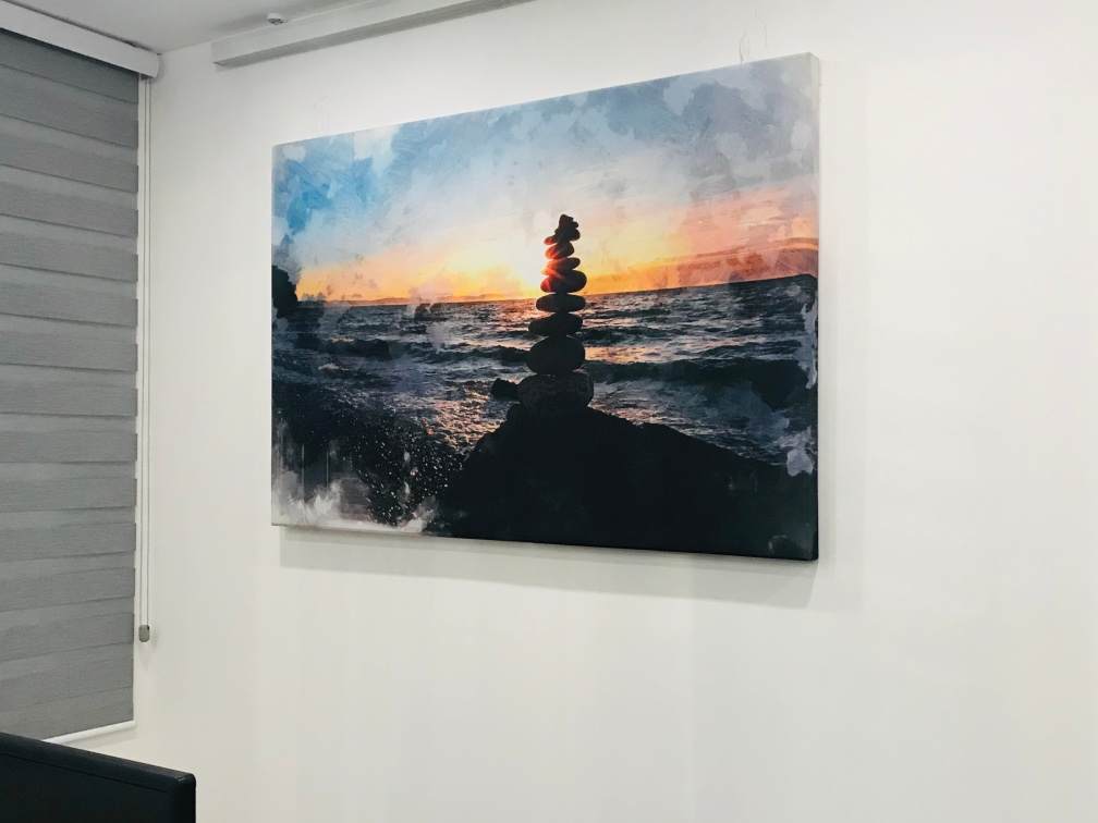 Printed Acoustic Wall Panel 1