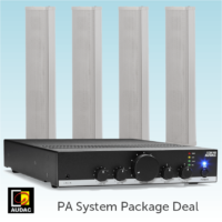 Public Address System Package Deal